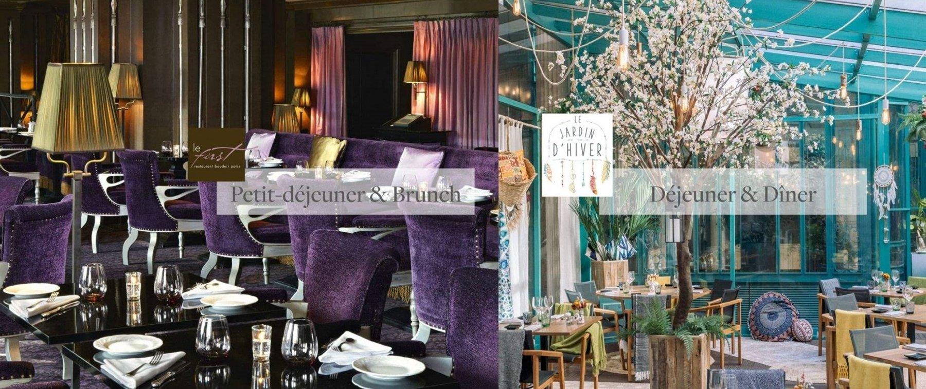 Notre Restaurant Le First Westin Paris Vendome